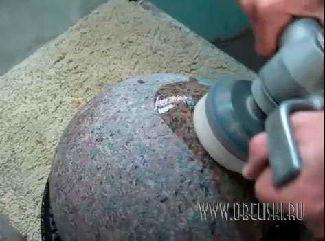 Чем отполировать камень в домашних условиях
